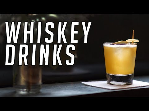 10 Whiskey Cocktails Everyone Should Know || Whisky Drinks || Gent's Lounge