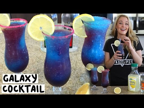 The Galaxy Cocktail - Tipsy Bartender