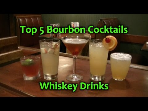 Top 5 Bourbon Cocktails Best Whiskey Drinks