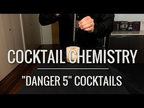 "Recreated - ""Danger 5"" Cocktails"