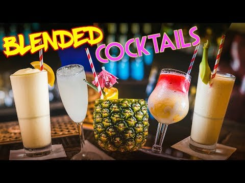 Blended Cocktails!
