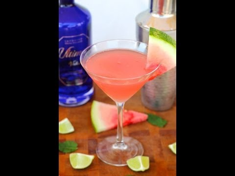 Cocktail Recipe: Watermelon Martini by Everyday Gourmet with Blakely