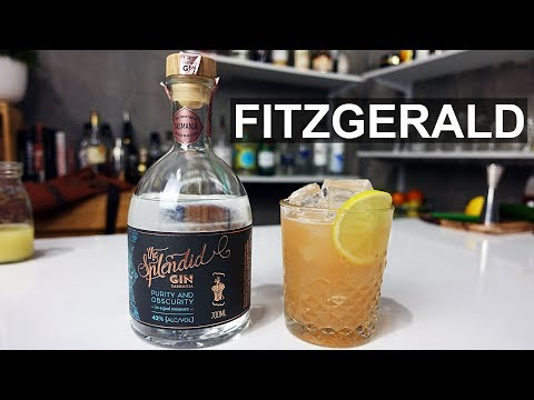 Fitzgerald Gin Sour Cocktail Recipe