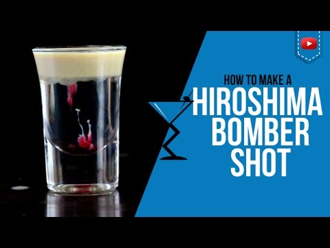 Hiroshima Bomber Shot - How to make Hiroshima Bomber Cocktail Recipe by Drink Lab (Popular)