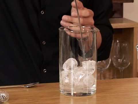 Cocktail Mixing - Mixing Glass
