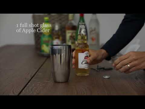 HOW TO TUTORIAL: Apple Cider Cocktail Mixing