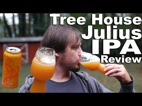 Tree House Julius Beer Review.  The Hoppiest Most Citrusy of IPAs.