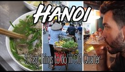 THE HUSTLE OF HANOI, VIETNAM | FOOD, CULTURE AND...BEER!