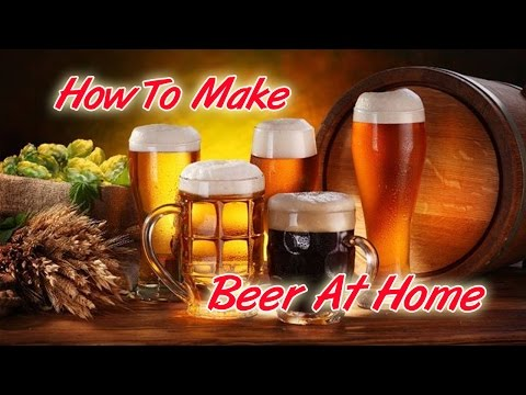 How To Make Beer At Home (Sierra Nevada Pale Ale recipe)