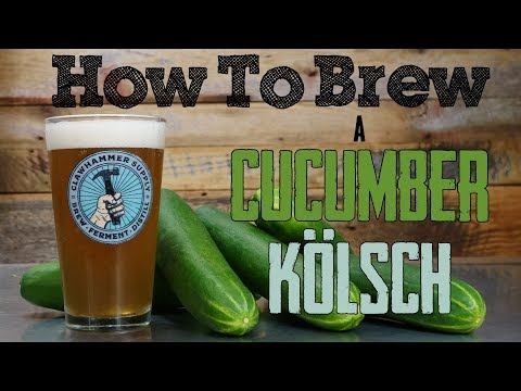 Homebrew Recipe: Cucumber Kölsch Style Beer