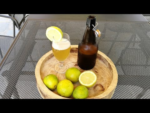 Homemade Craft LEMON BEER recipe