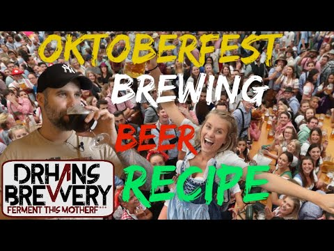 Oktoberfest Marzen Beer All Grain Brewing Recipe and tasting