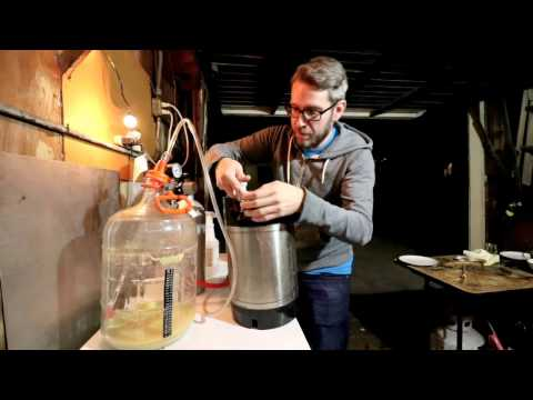 How to Transfer Homebrew to a Keg