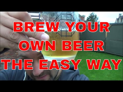 Home Brewing Beer - Cheap, fast, easy, non-scientific!