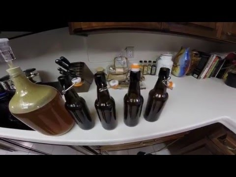 "How to Brew Beer 1 Gallon  Homebrew kit - Part 2 ""Bottling"""