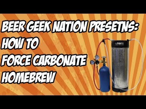 How to force carbonate homebrew the simple way | Beer Geek Nation Craft Beer Reviews