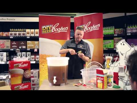 DIY Beer Demo at Dan Murphy's