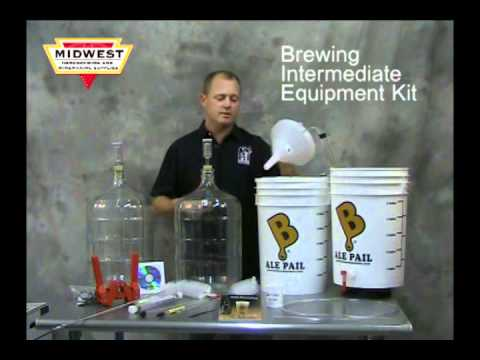 Beer Making Equipment Kits from Midwest Supplies
