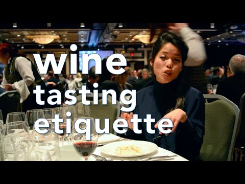 Wine Tasting Etiquette | HOW TO | Mtlfoodsnob