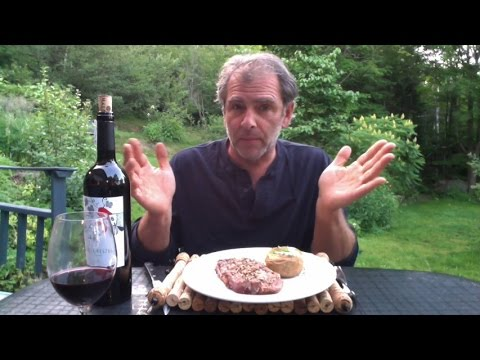 Barbecue steak and red wine pairing