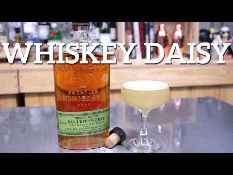 Whiskey Daisy Cocktail Recipe - featured on Imbibe!!