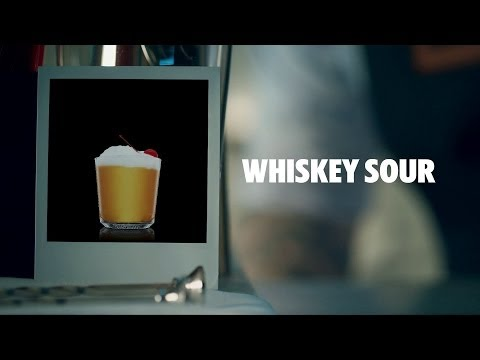 How to make an Absolut Whiskey Sour Cocktail | Recipe