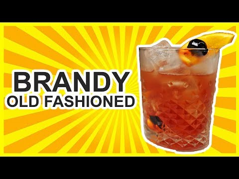 Brandy Old Fashioned - Wisconsin Style!!
