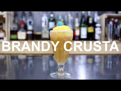 Brandy Crusta Cocktail Recipe