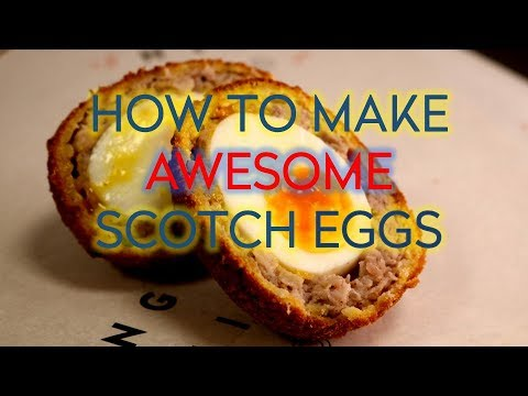 Awesome Homemade Scotch Egg Recipe
