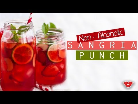 Non-Alcoholic Sangria! | Stephanie from Millennial Moms