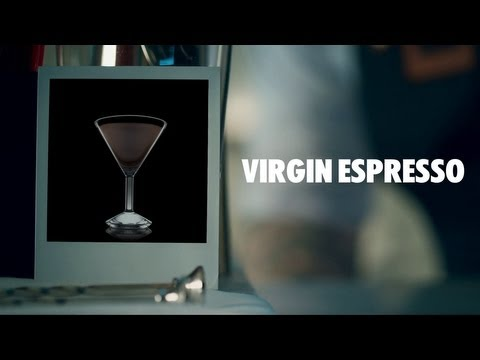 VIRGIN ESPRESSO DRINK RECIPE - HOW TO MIX