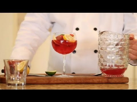 How to Make a Virgin Sangria : Virgin & Non-Alcoholic Drink Recipes