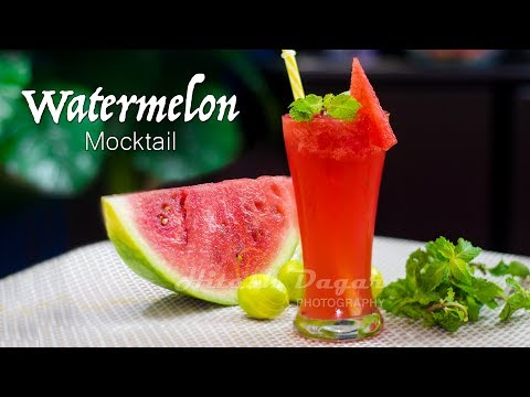 Watermelon Mocktail | Watermelon Mojito | Watermelon Drink