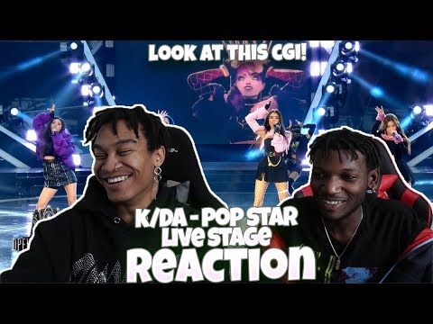 (G)I-DLE & K/DA - POP/STARS (ft Madison Beer, Jaira Burns) | Worlds 2018 Opening Ceremony - REACTION