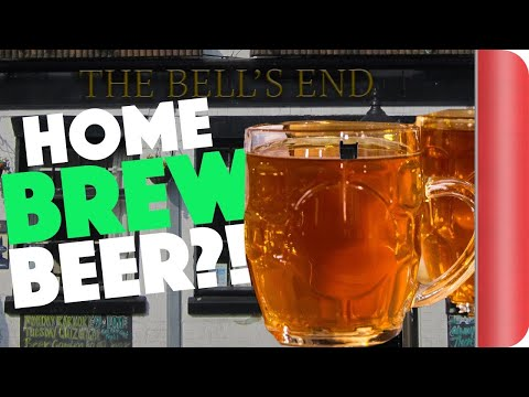 Ben Tries To Make Homemade Beer... An Experiment!!!