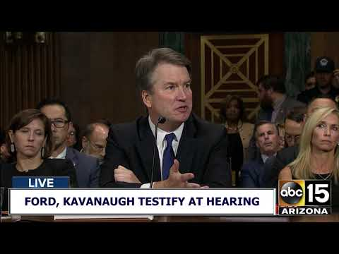 """WE DRANK BEER. I LIKED BEER. BOYS AND GIRLS."" - Brett Kavanaugh fires back"