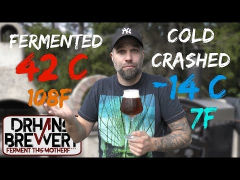 Extreme temperature beer brewing with Kveik. Brewday and recipe.