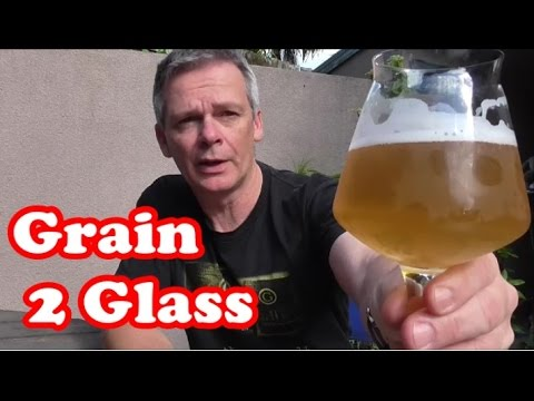 "Grain to Glass - Gose Beer ""There She Gose Again"" + Recipe Link"