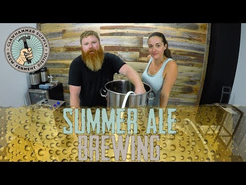 Summer Ale Brewing