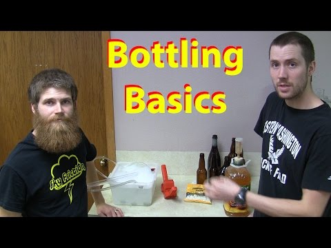 How to Bottle Home Brew Beer or Cider (Bottling our Easy Hard Cider)