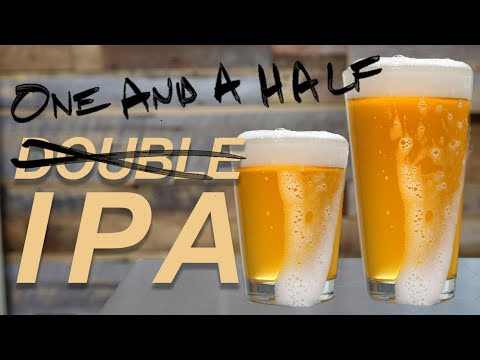 Brewing Beer: Double IPA All Grain Homebrew Recipe