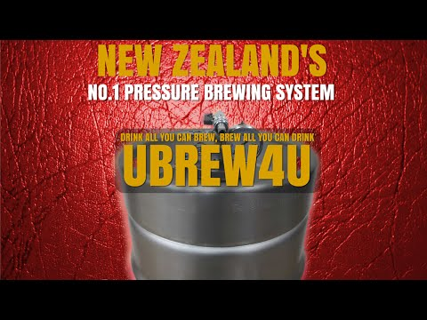 Ubrew4u Home Brew Pressure Brewing System New Zealand