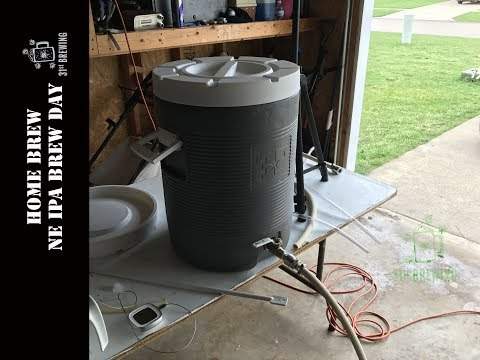 Home Brew All Grain NE IPA Brew Day 2017