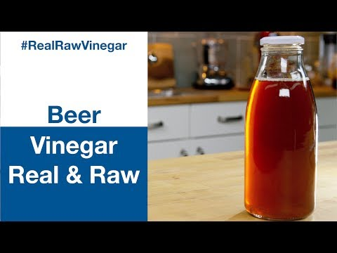 How To Make Beer Vinegar RAW Vinegar || Glen & Friends Cooking