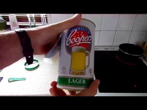 Making the Coopers DIY Beer Kit from start to finish 2016