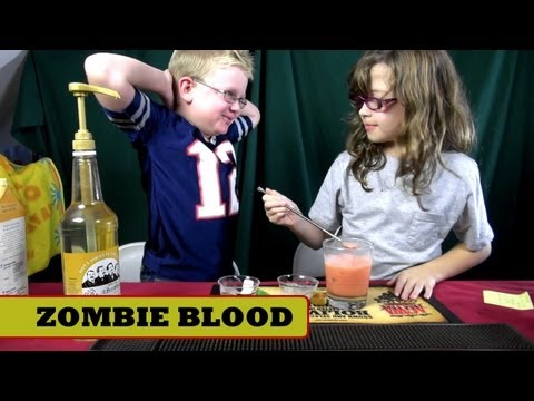 Zombie Blood Mocktail ( Non-Alcoholic, Virgin Drinks )