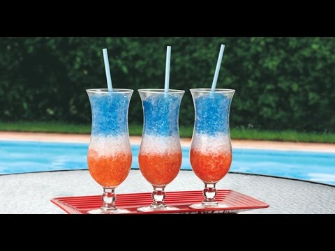 How to 4th of July Layered Drink (non alcoholic)