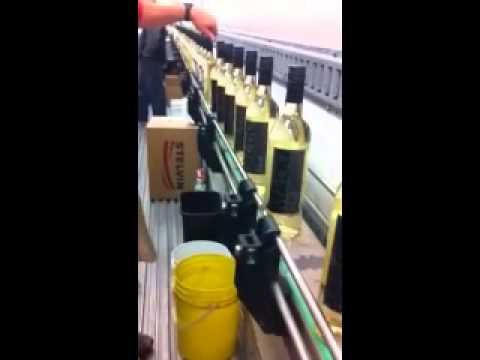 MADD Virgin Drinks - first batch of MADD Virgin Blanc comes off the bottling line