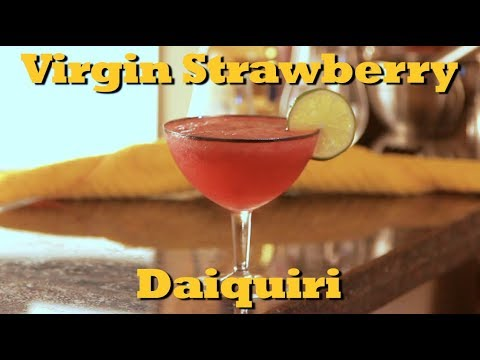How To Make A Virgin Strawberry Daiquiri | Drinks Made Easy