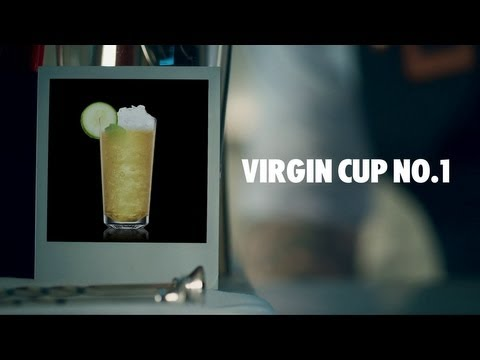 VIRGIN CUP NO.1 DRINK RECIPE - HOW TO MIX